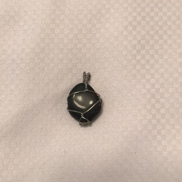 Jewelry Wire Wrapped Stone Pendant Poshmark